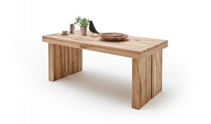 4513f336244fc Masívny jedálenský stôl DUBLIN 180 cm - dub bielený